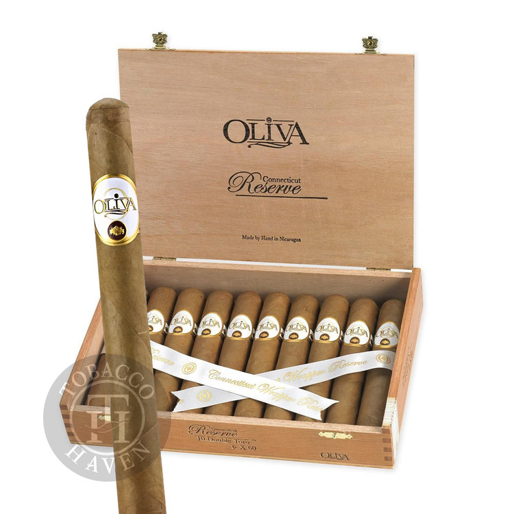 Oliva - Connecticut Reserve - Lonsdale Cigars, 6 1/2x44 (20 Count)