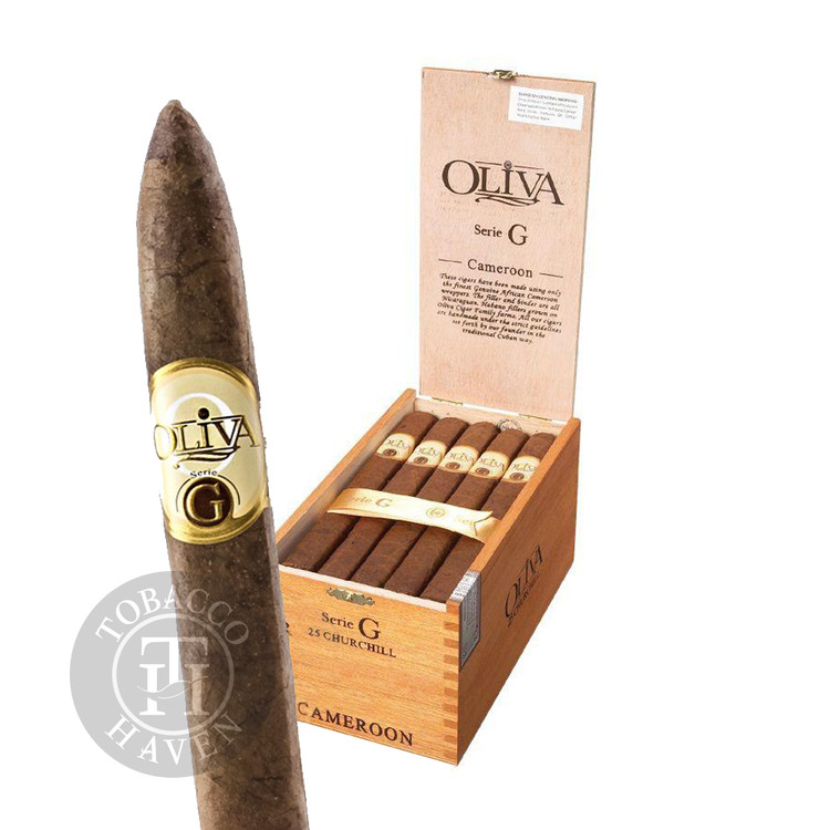 Oliva - Serie G - Torpedo Cigars, 6 1/2x52 (25 Count)