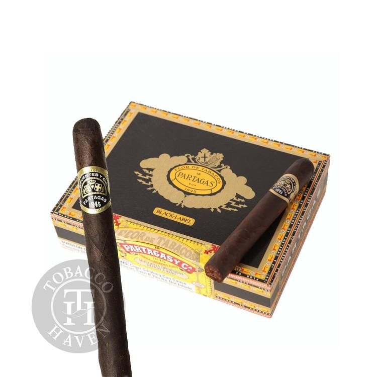 Partagas - Black Label - Bravo Cigars, 4 1/2 x 54 (20 Count)