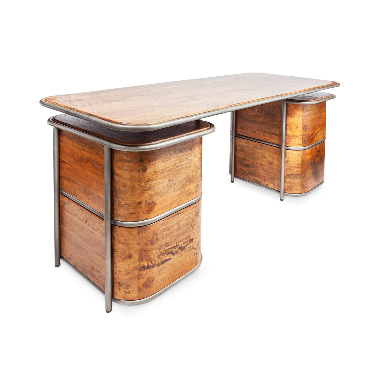 buro desk oda industrial gepolijsd itsthat gestript polished shop deco ahrend arend art stripped