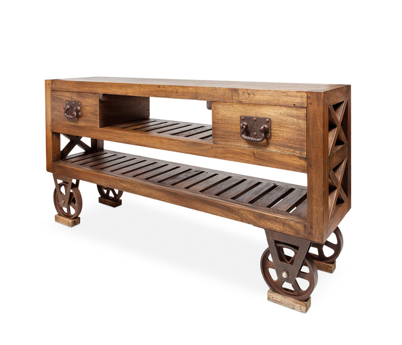 Railway Console with Drawers