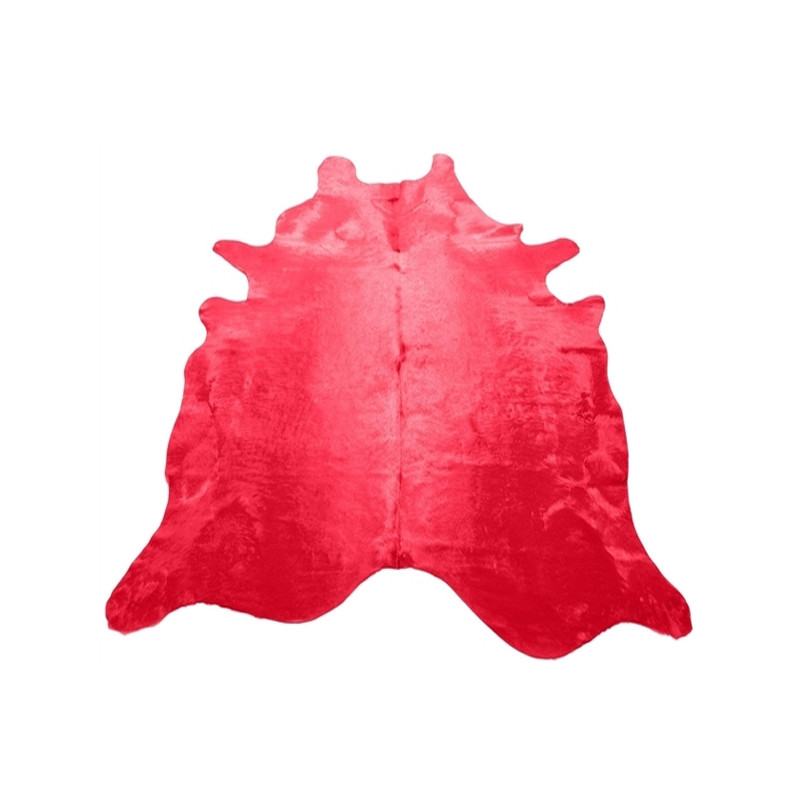 Cow Hide Red
