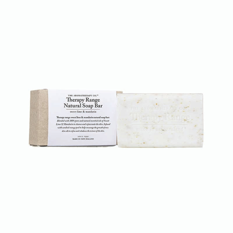 Therapy Range Natural Soap Bar Sweet Lime & Mandarin 150g