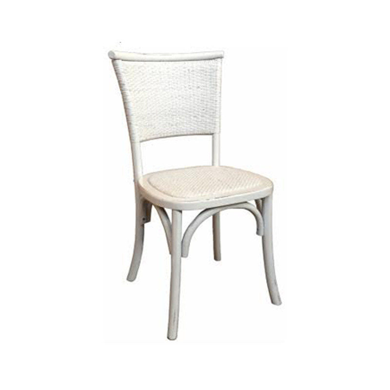 Provincial Dining Chair White