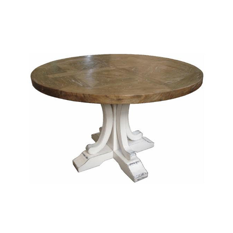 Ronde Dining Table White Leg