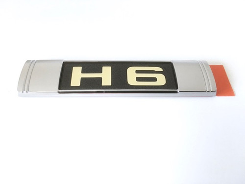 Genuine Subaru Legacy H6 Badge at AVOJDM.com