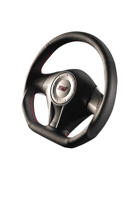 Damd Steering Wheel SS358D-L-1, Red Stitch at AVOJDM.com