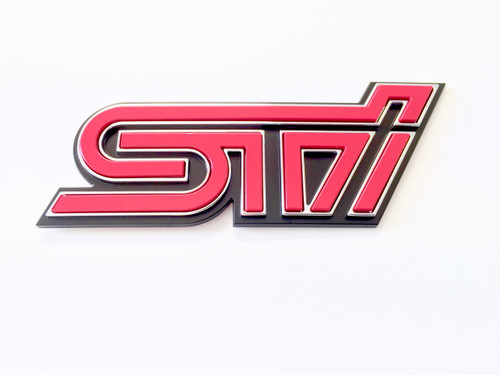 JDM STI Badge ST91053ZR130 at AVOJDM.com