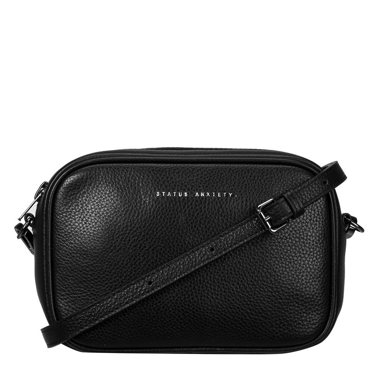 Status Anxiety Plunder Leather Bag - Black