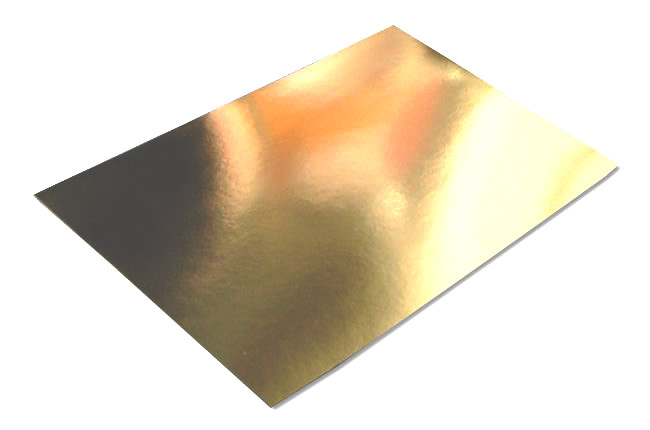 Mirror Card - Gold (1 Sheet)
