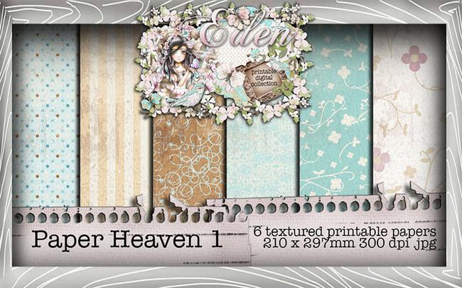 Eden Collection - Paper Heaven 1 Digital Craft Download Bundle