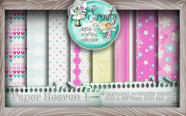 Serenity Fairy Wishes Paper Heaven 2 - Digital Craft download bundle