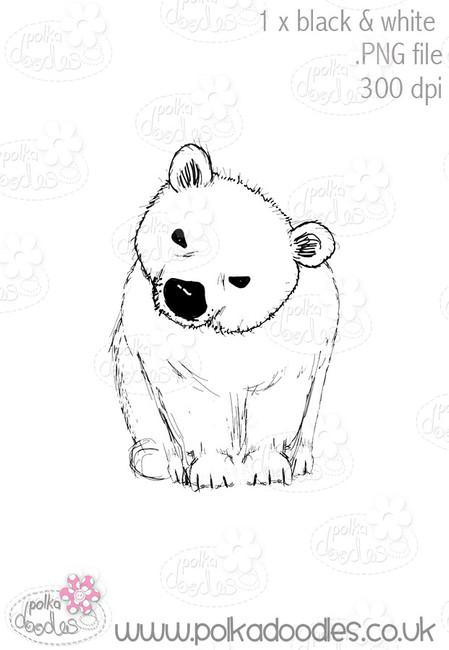 Polar Bear - Octavia Frosted Winter - Digital CRAFT Download