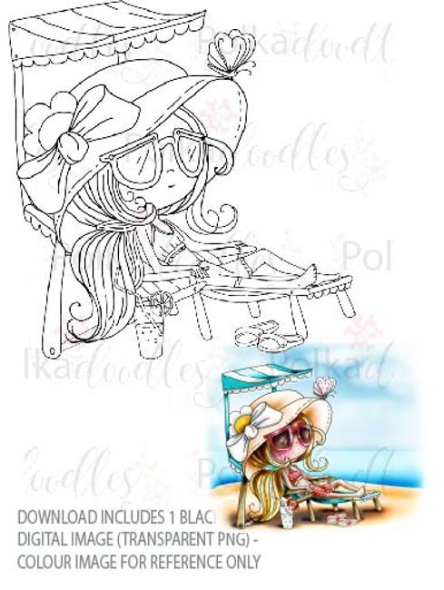 Winnie Starfish/Sandcastles - Relaxing Sunlounger DOWNLOAD