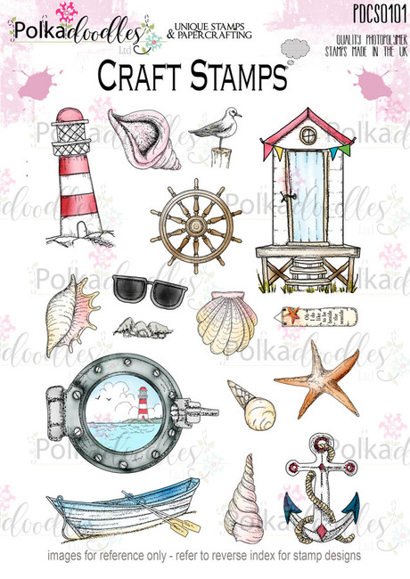 Tropical Oceans Clear Stamp set
