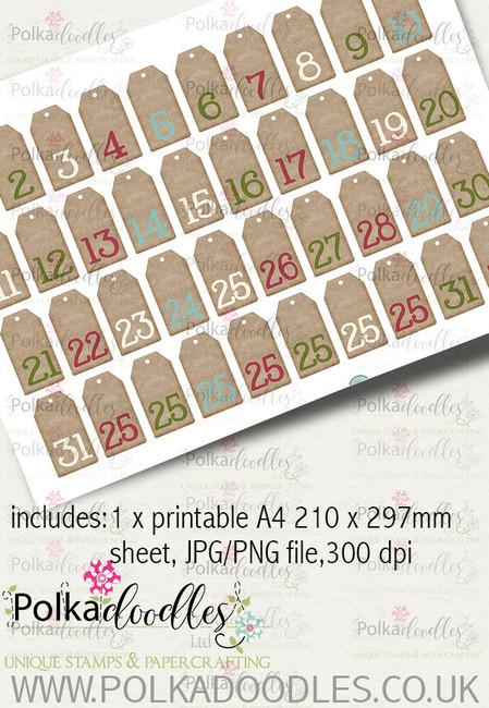 Baked With Love - Design Sheet 1 digital craft paper download