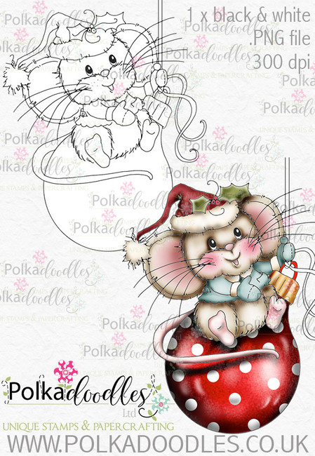 Kit & Clowder class - Noel the Christmas Mouse