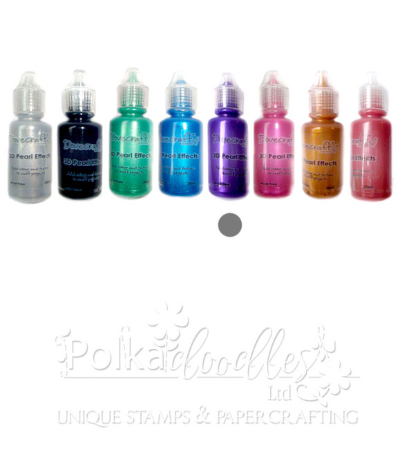 Pearl Purple - Dovecrafts 3D Pearl Effects Glue 20ml