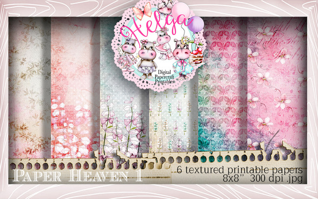 Helga Hippo Paper Heaven 1 download bundle