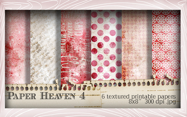 Paper Heaven 4 - Horace & Boo download printable bundle