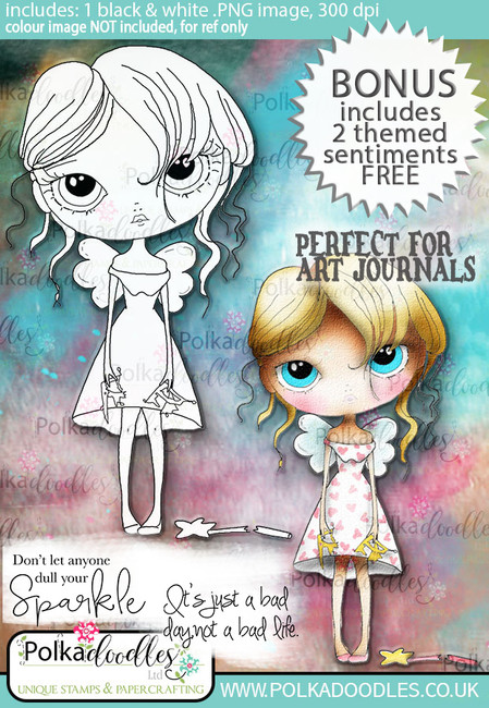 Ula Sparkle - Life Journal craft digi download