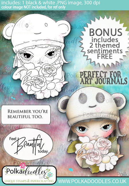 Ula Inner beauty - Life Journal craft digi download