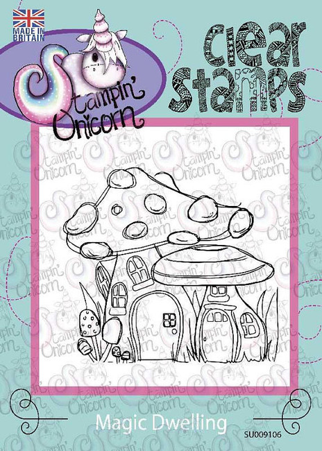 Magical Dwellings - Clear Stamp Set by Stampin Unicorn
