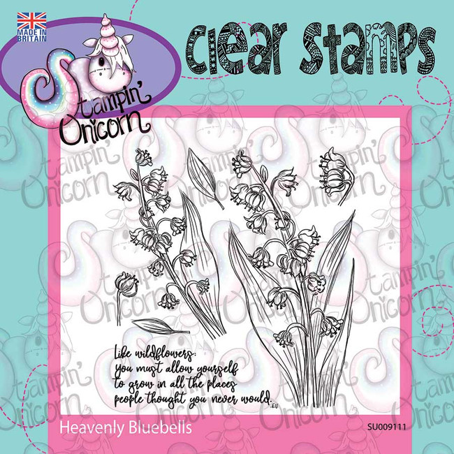 Heavenly Bluebells - Stamp set curated by Stampin Unicorn