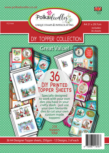 Magical Christmas Collection - Stamps & DIY Topper pack