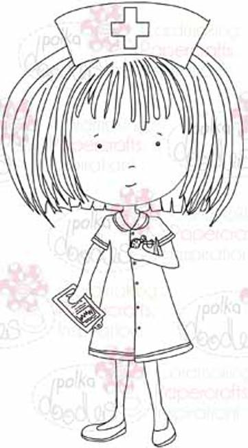 Nurse Annie digital stamp download