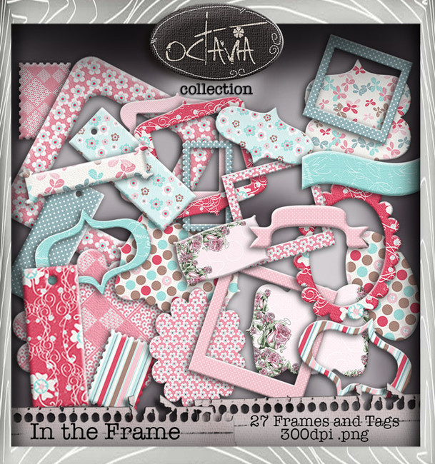 Octavia Moonfly - In the Frame Digital Craft Download Bundle