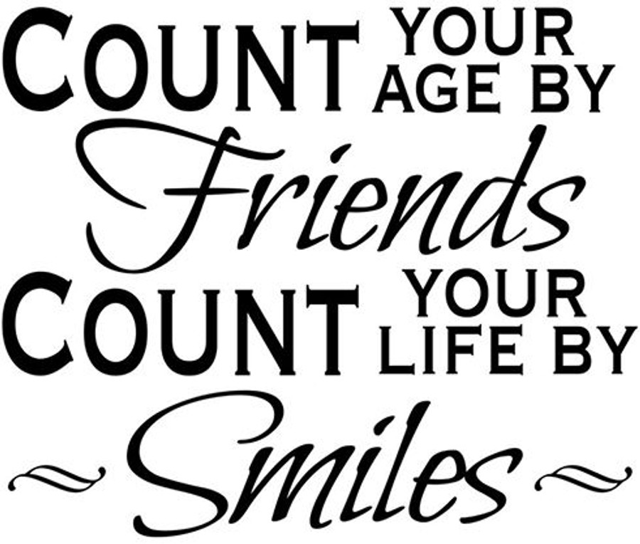 Count Friends - printable Digital Stamp free download