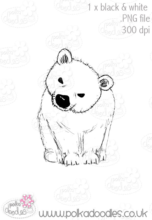 Polar Bear - Octavia Frosted Winter - Digital CRAFT Download