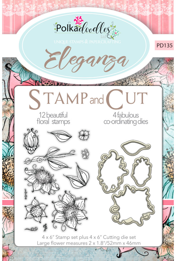 Eleganza - Stamp & Cut set
