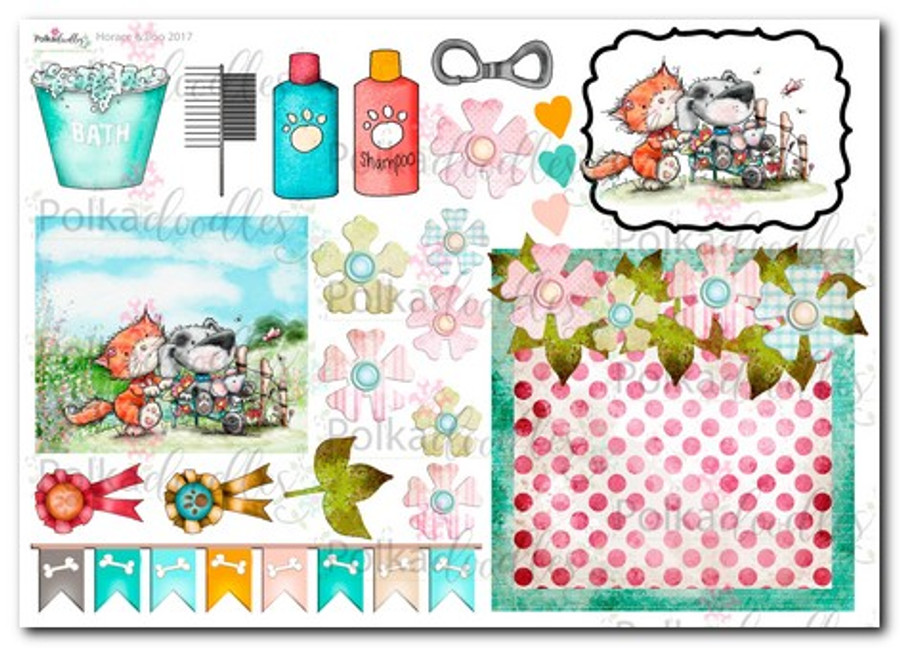 Horace & Boo Design Sheet 8- download printable