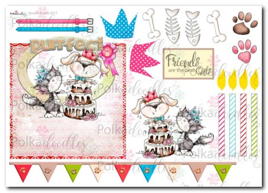 Horace & Boo Design Sheet 9- download printable