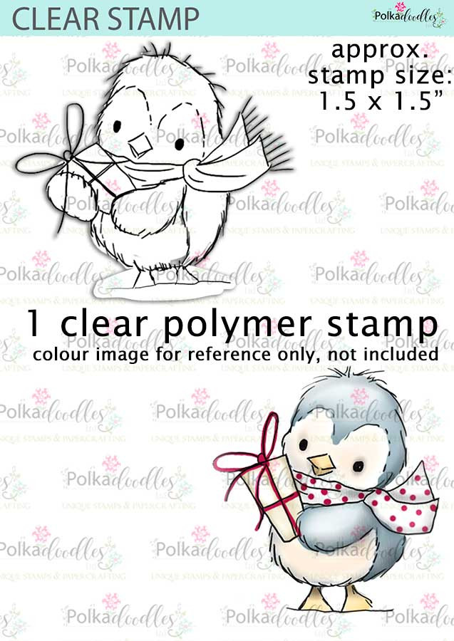 Cute Penguin Clear Stamp