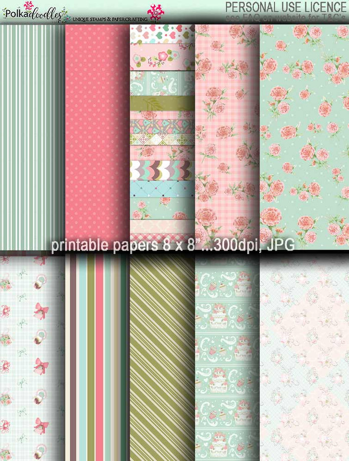 Winnie Celebrations 2... Papers 2 - digi scrap kit download digital paper printables. High quality 300dpi.