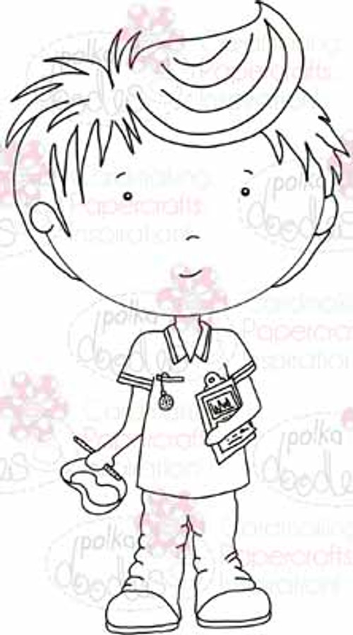 Nurse Joe digital stamp download