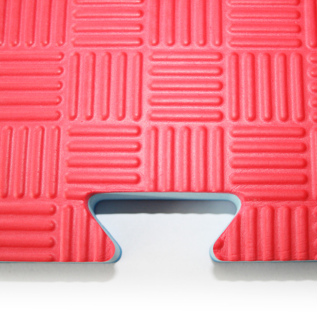 25mm Reversible Red/Blue Floor Mats/Tatami