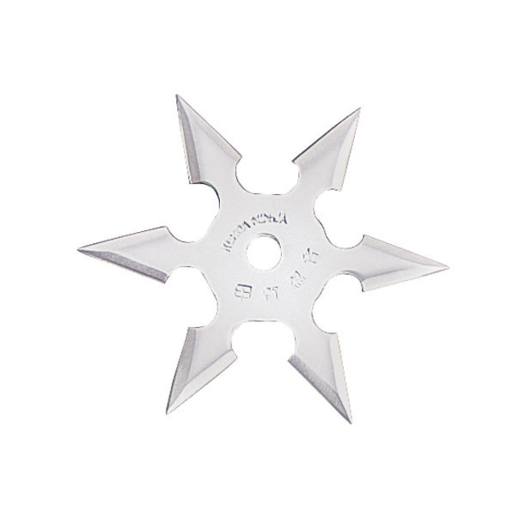 """4"""", 6 point throwing star"""