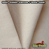 "10oz/60"" Cotton Canvas Fabric/ Duck Cloth - NATURAL"