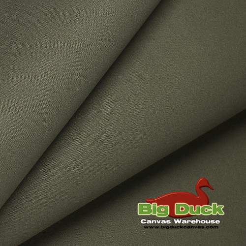 "#10/60"" Cotton Canvas Duck - Dark Olive Drab"