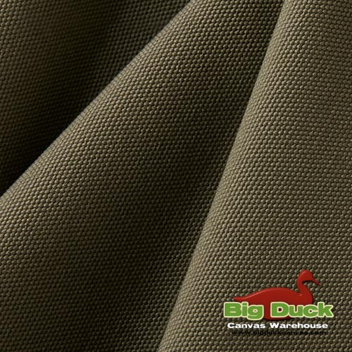 12oz Heavyweight Cotton Duck OLIVE (Popular Brand FACTORY SECONDS) Wholesale Big Duck Canvas Warehouse