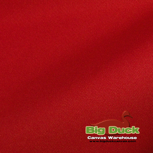 1000 Denier (1000D) Coated Polyester Canvas - Red