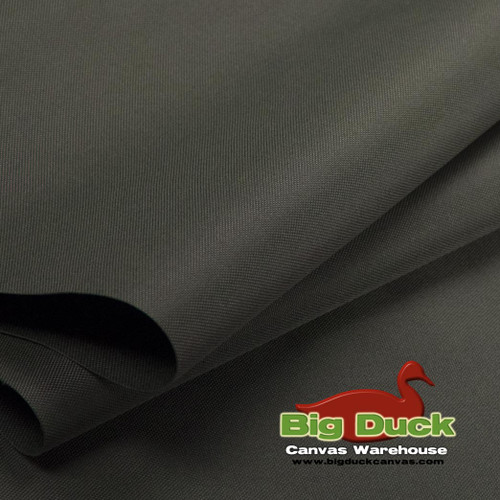 1000 Denier (1000D) Coated Polyester Canvas/Fabric Wholesale Roll - Charcoal Gray
