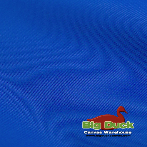1000 Denier (1000D) Coated Polyester Canvas - Royal Blue