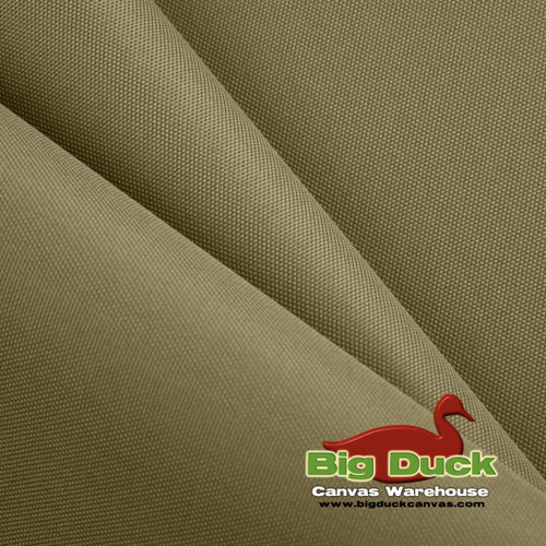 1000 Denier (1000D) Coated Polyester Canvas/Fabric Wholesale Roll - Taupe