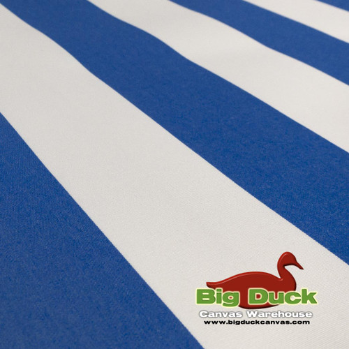 Marine/Awning Outdoor Fabric Wholesale--Blue White Stripe SeaDuck