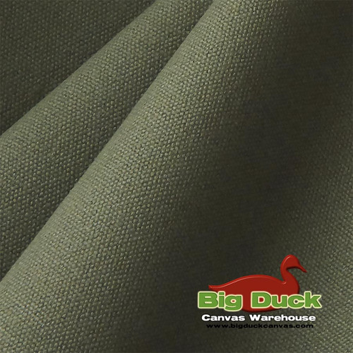 "#10/60"" Cotton Canvas Duck Fabric Online-Olive Drab-Wholesale"